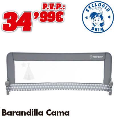 Barandilla de Cama 150 x 50 cm Plegable Tipi