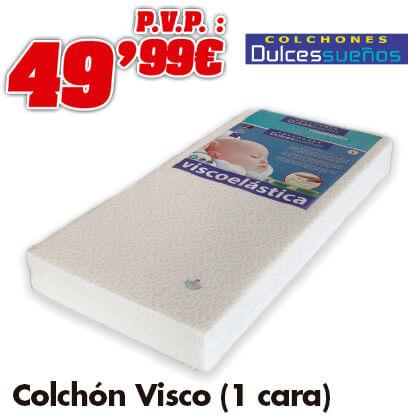 Dulces Sueños Colchón Viscolatex 60x120