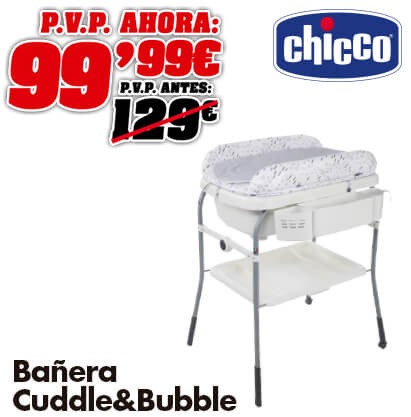 Chicco Bañera Cuddle & Bubble Cool