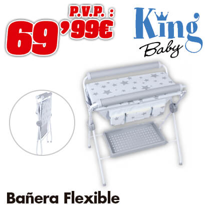 King Baby Bañera flexible