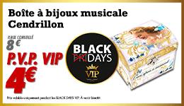Cendrillon Bijoux Musicalle