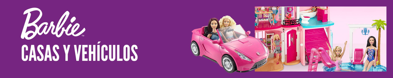 Barbie vehiculos y casas