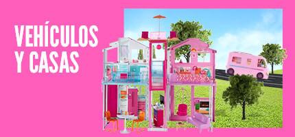 Barbie Vehículos y casas