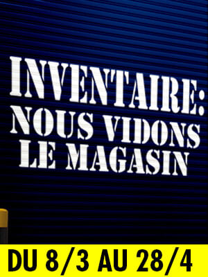 Inventaire - vidons le magasin