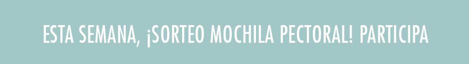 Sorteo Mochila pectoral