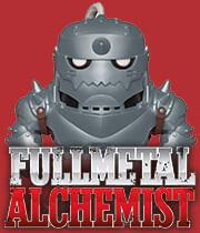 Página de Funko Pop Full Metal Alchemist