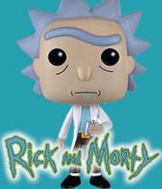 Página de Funko Pop Rick y Morti