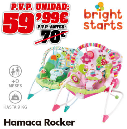 Bright Starts Hamaca Rocker