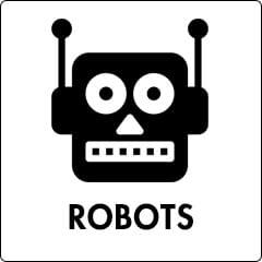 robots día del padre