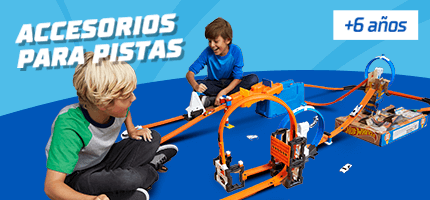 Hot Wheels acesorios para pistas