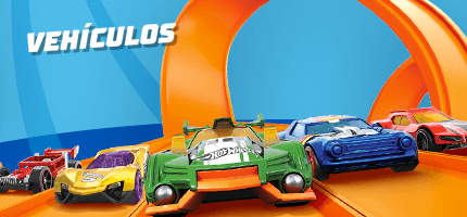 Hot Wheels vehículos
