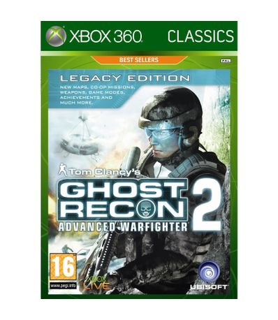 Ghost-Recon--Advanced-Warfighter-2---Classics---XBOX-360
