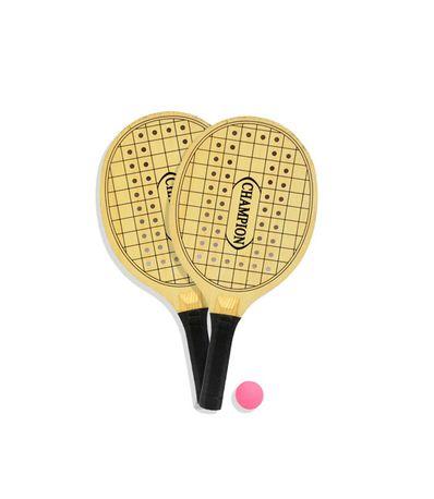 Madeira-raquetes-jogo