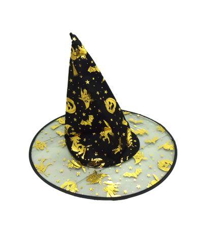 Sombrero-de-Bruja-Negro-y-Dorado