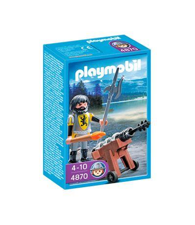 Playmobil-Knights-Cavaleiro-com-Canhao