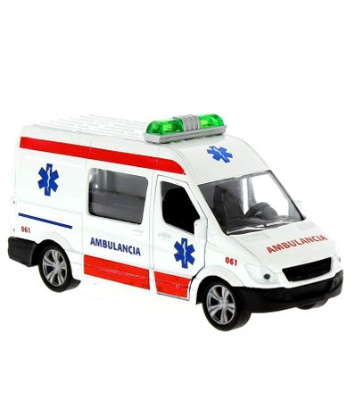 Miniature-bombeiros-ou-ambulancia-van-Escala-1-43