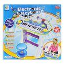 Piano-Infantil-con-Micro-y-Taburete