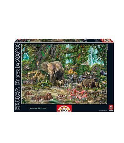 Puzzle-Selva-Africana-2000-Pecas