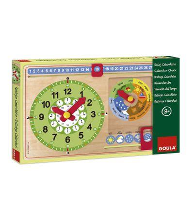 Reloj-de-Madera-con-Calendario-en-Catalan