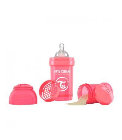 Biberao-Twistshake-Anti-colica-180Ml-Coral