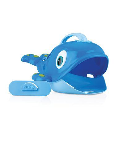 Recolhe-Brinquedos-de-Banho-Baleia-Nuby