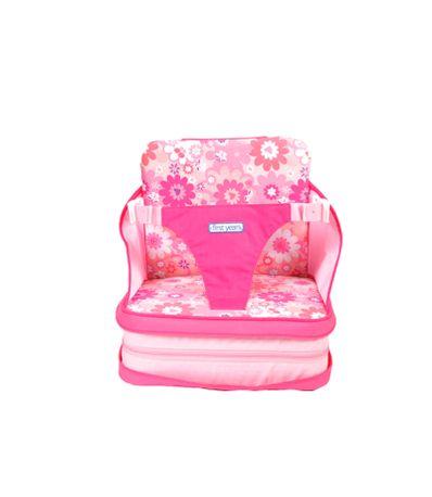 Cadeira-Portatil-auto-insuflavel-Rosa
