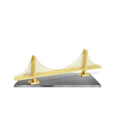 modelo-da-escala-do-metal-da-Golden-Gate
