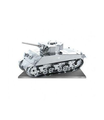 Metal-mockup-Sherman-Tanque