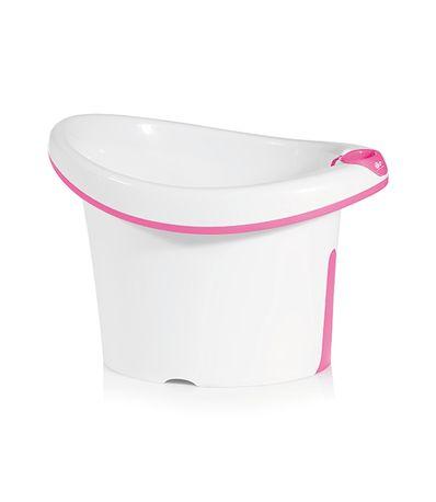 Bañera-para-bebe-Tub-blanco-rosa