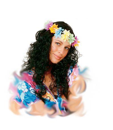 Peruca-Hawaiana-Negra