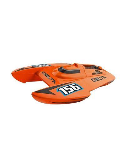 Barco-Delta-laranja-escala-1-14-RC