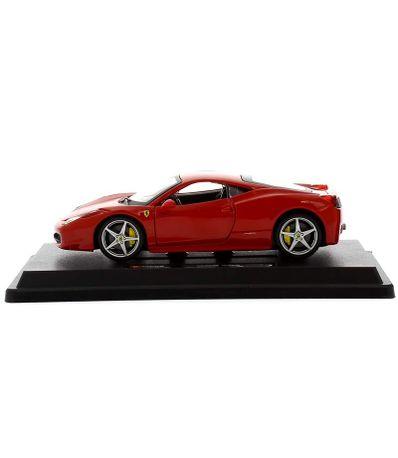 Coche-Miniatura-Ferrari-458--Escala-1-24