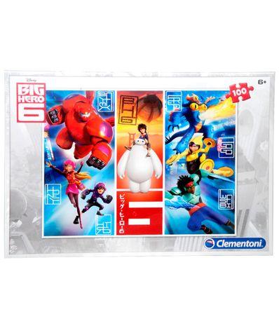 Puzzle-100-piezas-Big-Hero-6