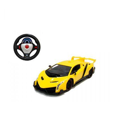 1-16-Scale-RC-carro-amarelo