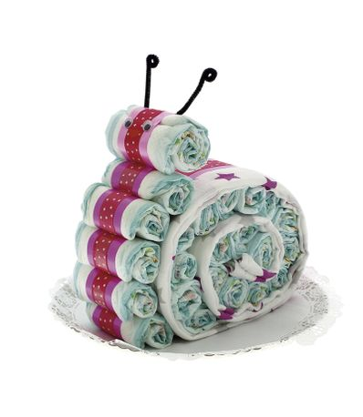 Torta-de-Fraldas-c--forma-de-Caracol-com-musselina