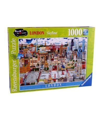 Puzzle-Skyline-Londres-1000-Piezas