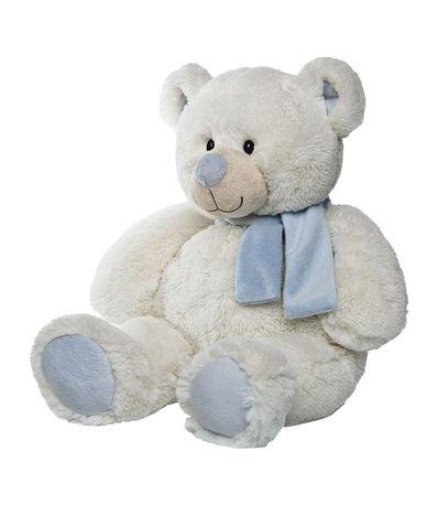 Urso-de-peluche-azul-do-lenco-28-cm