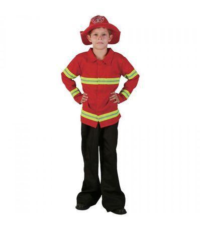 Costume-Criancas-bombeiro-Tamanho-8-10-anos