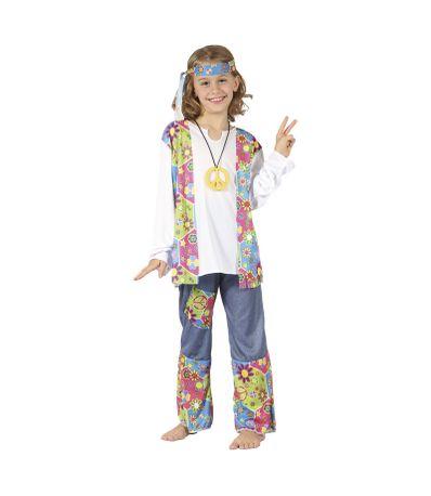 Disfraz-Hippie-Infantil