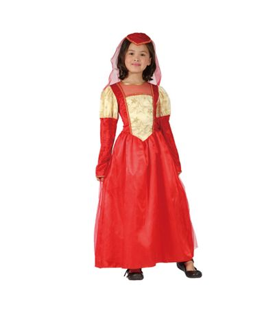 Disfraz-Princesa-Medieval-Infantil
