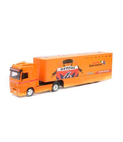 Repsol-Honda-Merced-caminhao-Miniature-Truck-Escala-1-43