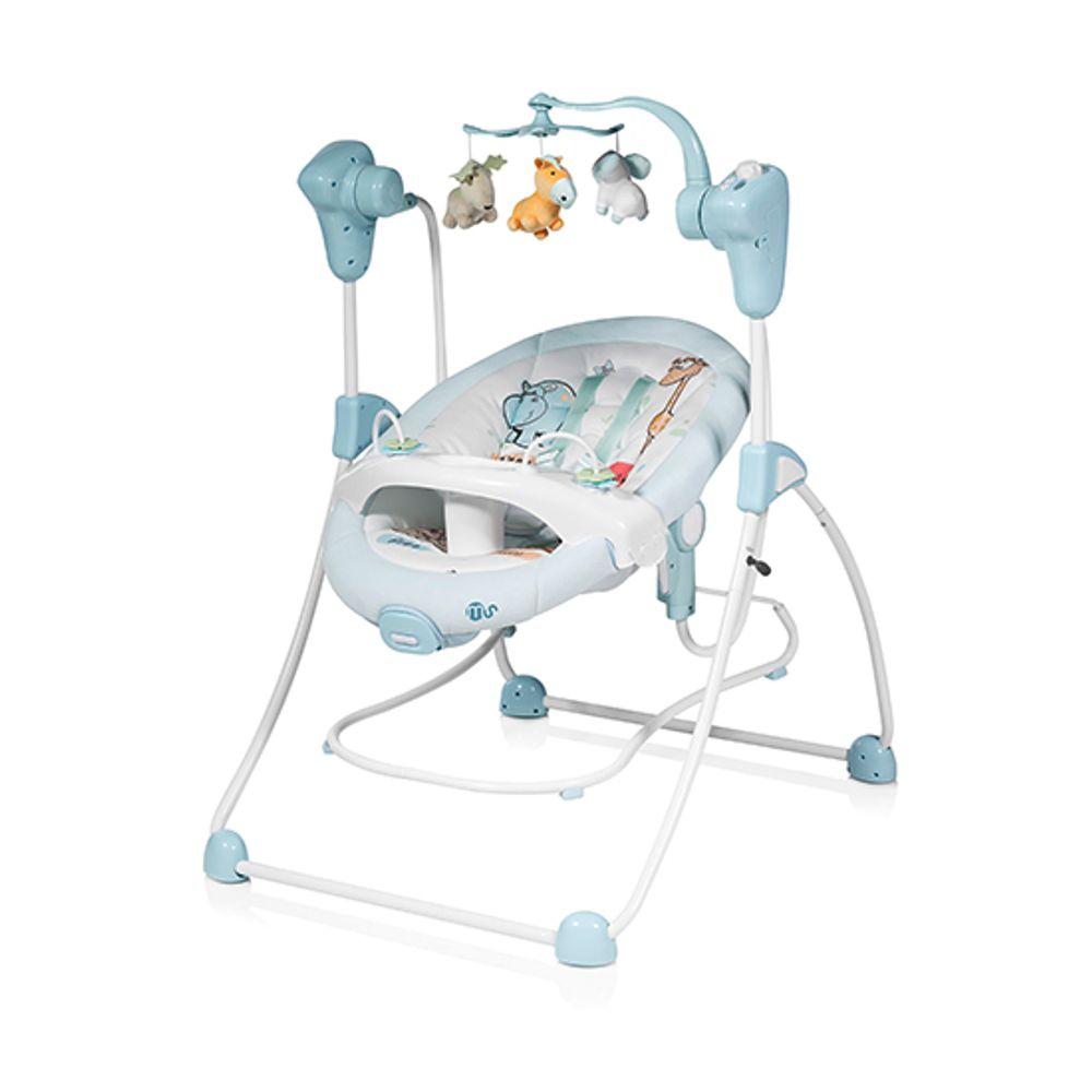398fe31e1 Columpio-Hamaca para bebé Sueños Azul - drimjuguetes