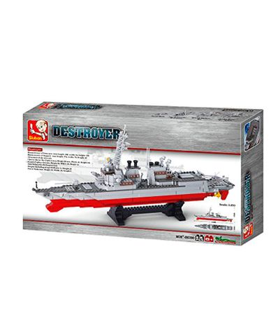 Destroyer-maquete-Boat