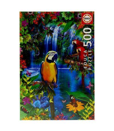 Puzzle-Pecas-Paraiso-Tropical-500