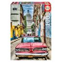 Puzzle-un-Coche-En-La-Habana-de-1000-Piezas