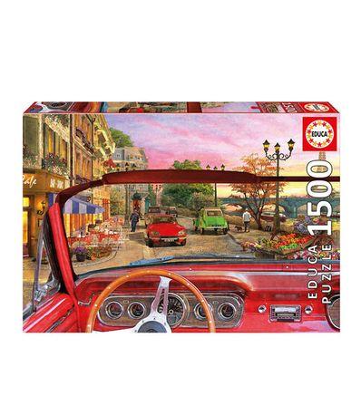 Puzzle-1500-Paris-desde-O-Carro