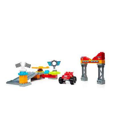 Mega-Blocks-Garagem-Eixo-City---Chama--amp--O-Monstro-Machines