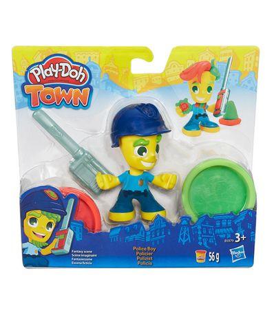 Play-Doh-Cidade-Policia-Figura