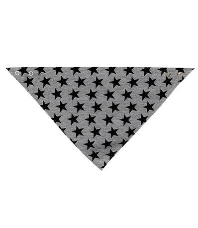 Babitas-bandana-bib-Grey-Black-Stars