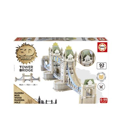 Puzzle-Monumento-3D-Tower-Bridge